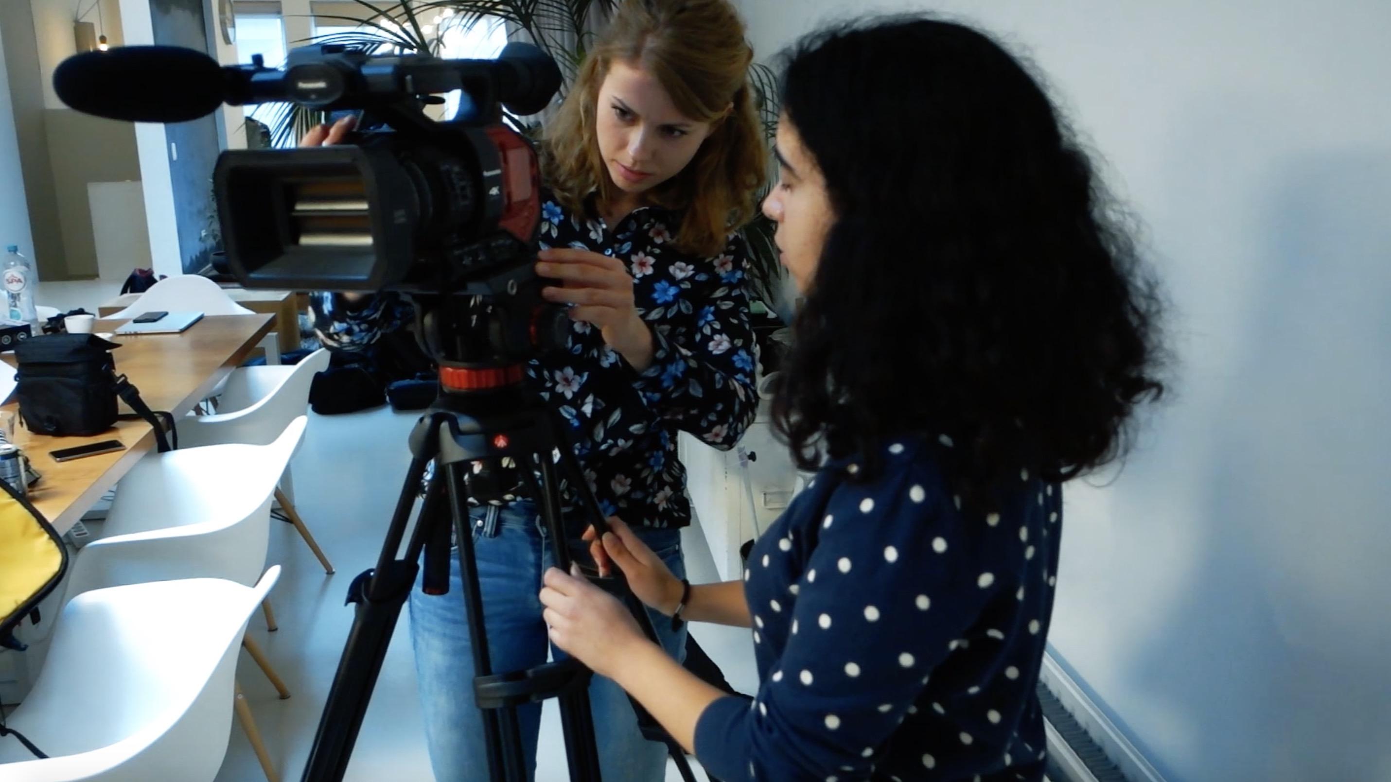 Creatieve (nieuws)video's maken