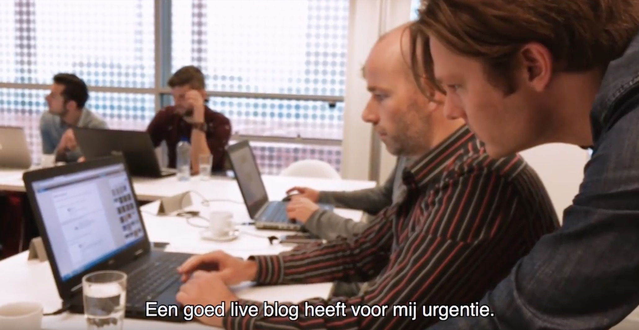 Live bloggen